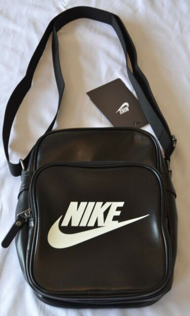 db11cf575b Sale     Nike Shoulder Bag Heritage Flight Portable Messenger Bag Black