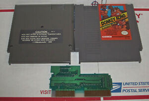 Donkey-Kong-Classics-Nintendo-Nes-Cleaned-amp-Tested-Authentic-Game-works-Great