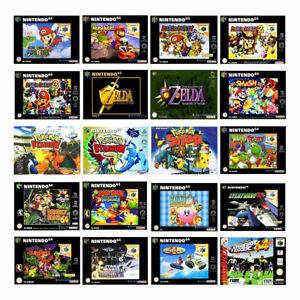 Los mejores Nintendo 64/n64 juegos-solo módulo