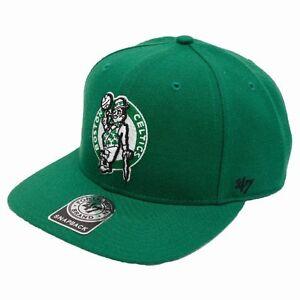 cfcb70331f982 NBA NEW AUTHENTIC 47 BRAND BOSTON CELTICS GREEN SNAPBACK TEAM HAT ...