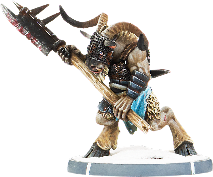 Darklands FMR-BLR-2200-110 Gaalgar's Herd Gul-Gabrax Unit 10x Warriors Warriors Warriors Beastmen 9385f3