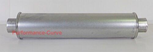 """4/"""" Round MSL Premium Muffler // Resonator-  2.25/"""" 22.5/"""" Long by AP Exhaust"""
