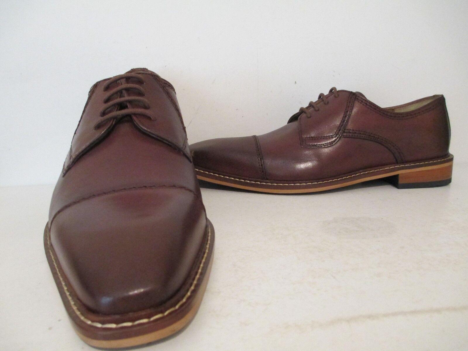 negozio online Giorgio Brutini Uomo Revenant 25074 Leather Oxford Dress scarpe scarpe scarpe Rust Dimensione 10.5 M  spedizione veloce e miglior servizio