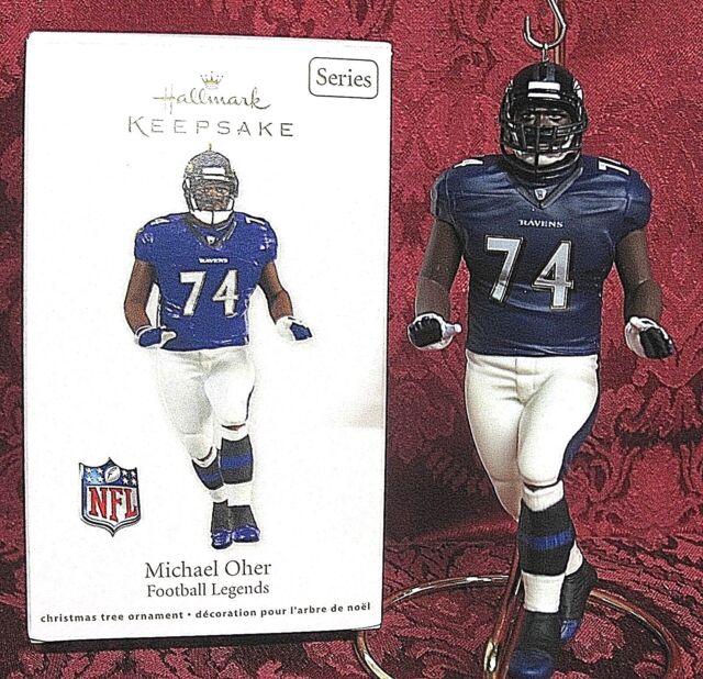 Hallmark Keepsake Ornament Michael Other Football Legends 18th in Series 2012