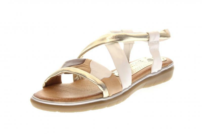 Marila Femmes Sandale Sandale multiblanc (Blanc) 429