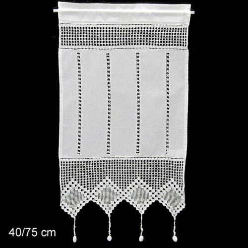 Scheibengardine  Bistrogardine Gardine Panneaux Küche 75//100//130 hoch
