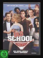 + DVD OLD SCHOOL - UNZENSIERT Komödie LUKE WILSON + VINCE VAUGHN + WILL FERRELL