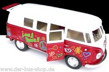 VW Bus T1 Modell - 1:32 - Rot / Weiß - NEU