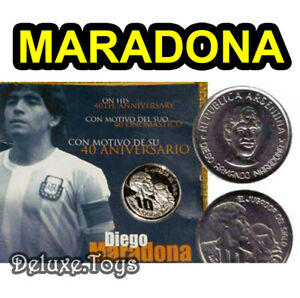 DIEGO-MARADONA-OFFICIAL-MEDAL-COIN-MONETA-CASA-DE-LA-MONEDA-ARGENTINA