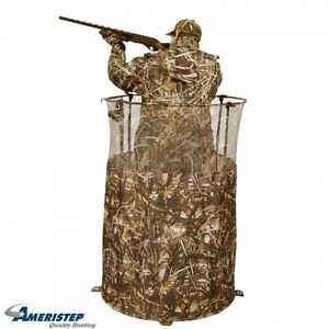 New Ringer Hunting Ground Blind Single Man Packable
