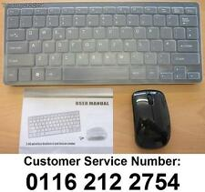 Black Keyboard & Mouse for Samsung UE32ES5500 32-inch 1080P Full HD Smart LED TV
