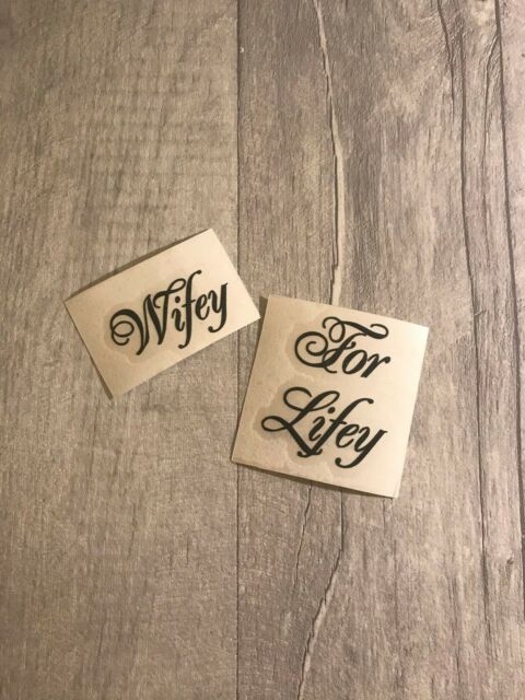 51921141d1b DIY Personalised Wedding Shoe Stickers Decal Name Mrs Sticker Wifey For  Lifey