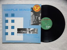 "LP SIMPLE MINDS ""Sister feelings call"" VIRGIN 70097 FRANCE §"