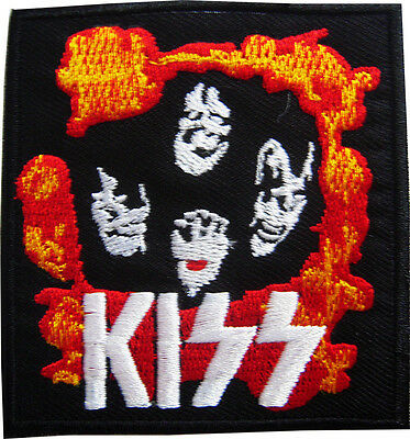 4.5 x 2 inch i91 AC//DC Rock Band embroidered iron-on patch