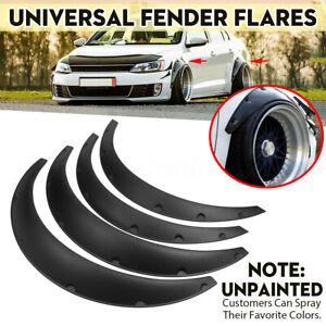 4pcs-Universel-Voiture-Roue-Sourcil-Garde-Boue-Fender-Flares-Elargisseurs-d-039-aile