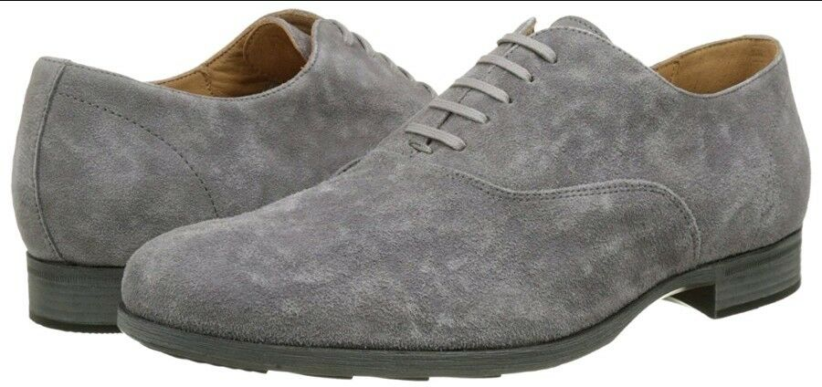 Geox Respira Suede U721XB Besmington  Uomo Suede Respira Lace-up Schuhes Anthracite uk 9 eu 43 49c428