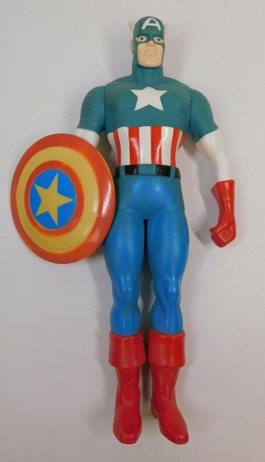Hamilton Gifts Marvel Captain America 15  Figure 1991 avec bouclier