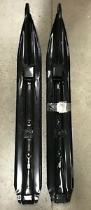 NEW-KIMPEX-OEM-SNOWMOBILE-REPLACEMENT-SNOW-SKIS-RUNNERS-BLACK-98-1527-08-318-03