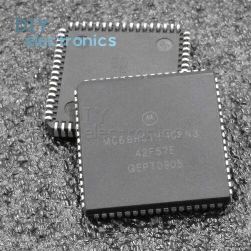 1PCS MC68HC11F1CFN3 F1CFN 68HC1 PLCC-68 8 Bit Microcontroller B2AE