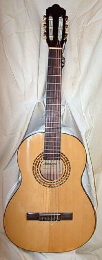 Ashland by Crafter Lefty 3 4 Classical Student Guitar
