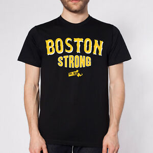 BOSTON-B-STRONG-2013-bruins-hockey-style-pd-team-BLACK-MENS-LARGE-T-SHIRT-Ebsb