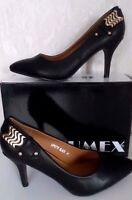 Elegante Damenschuhe  Schuhe  Pumps  High Heels JUMEX Schwarz  Gr.38  NEU