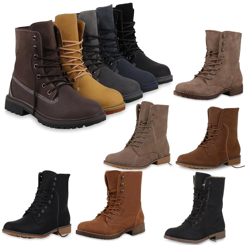 Biker Boots Lederoptik Gr 36-41 Damen Schuhe Stiefel Stiefeletten 95584 New Look