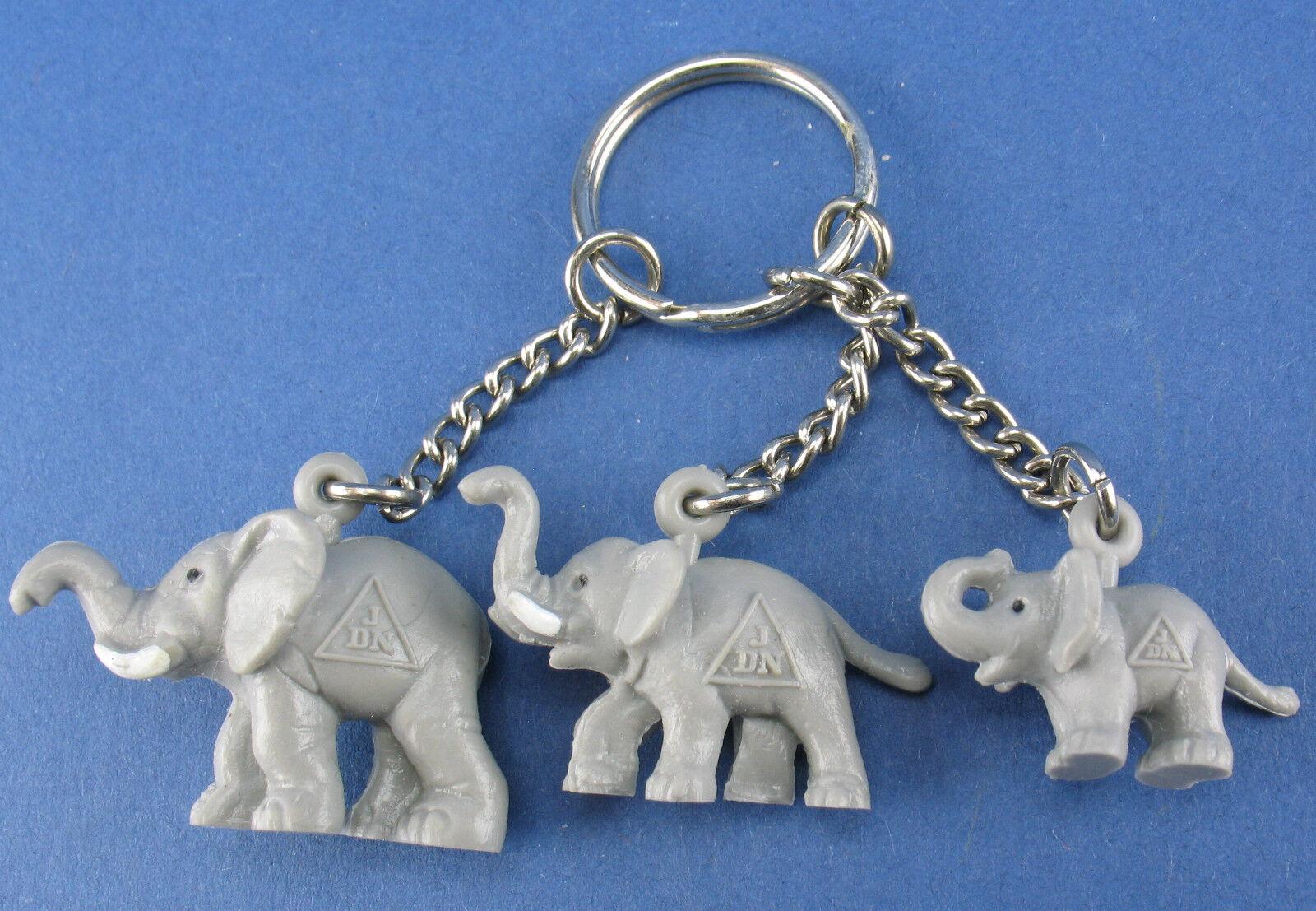 Schleich - 3x mini elefantes - 1,7 - 2,5 cm-JDN werbeFiguran-personaje minis
