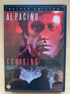 Cruising-DVD-1980-Gay-S-amp-M-Szenerie-Murder-Mystery-Thriller-Klassisch-Warner