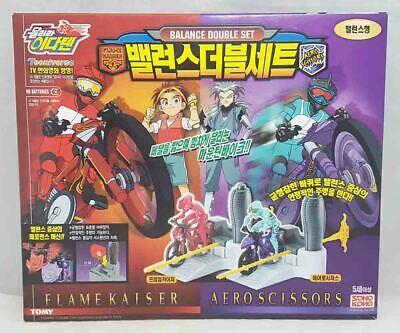 TOMY /'Idaten Jump/' Series /'THUNDER EMPEROR /& BLOODY FANG/' Drift Double Set