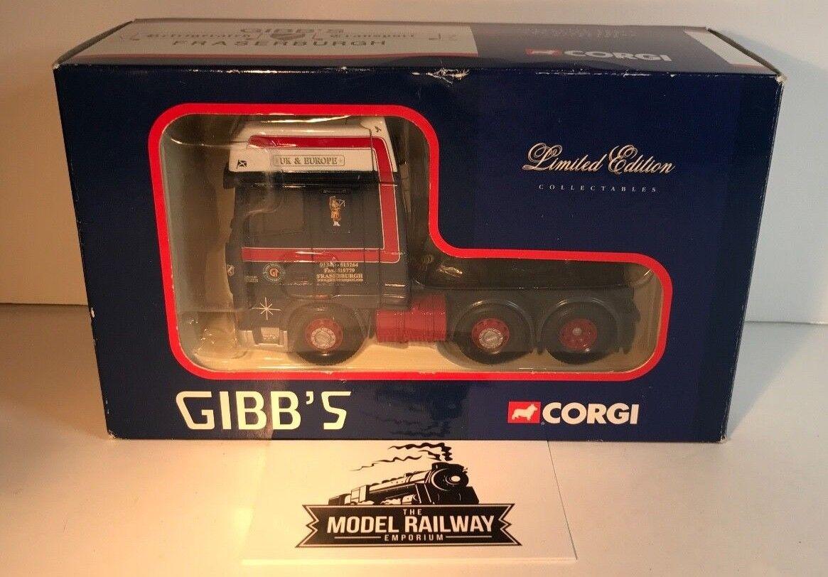 Joie de Noël, étape par étape CORGI échelle 1/50 - CC13210-DAF XF SUPER tracteur GIBBS Fraserburgh-Neuf   Dans Un Style élégant    Online Shop