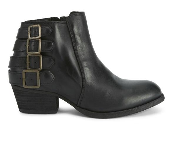 H By Hudson Beige Encke botas Distressed Leather Ankle botaie botas Encke 3 - 4 New 40ffc4