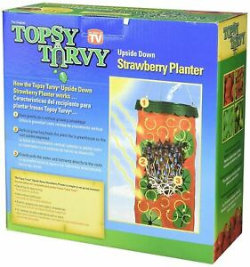 Topsy-Turvy-STRAWBERRY-HANGING-PLANTER-Upside-Down-Single-Pack