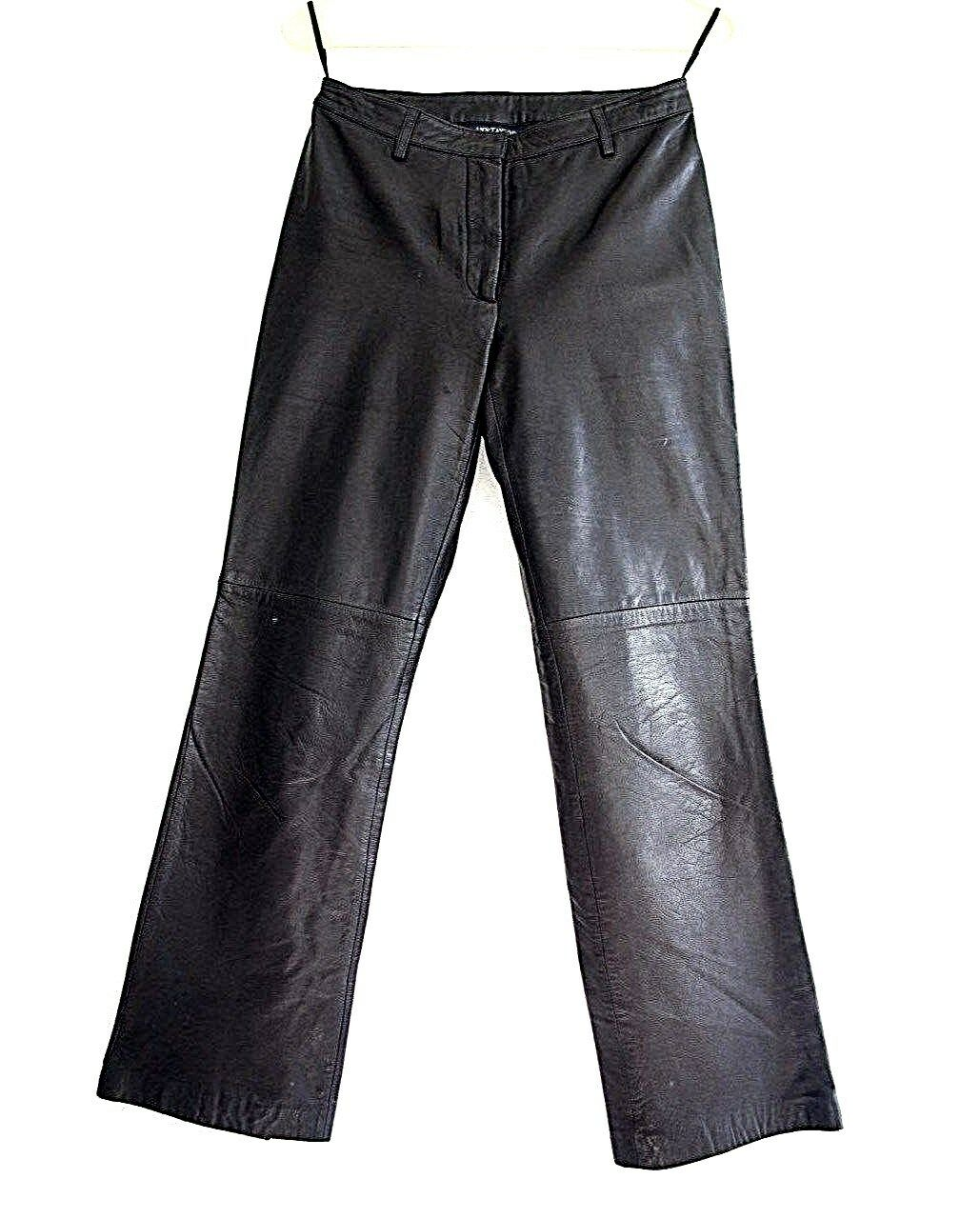 Ann Taylor genuine Leather Pants Size 2 Petite