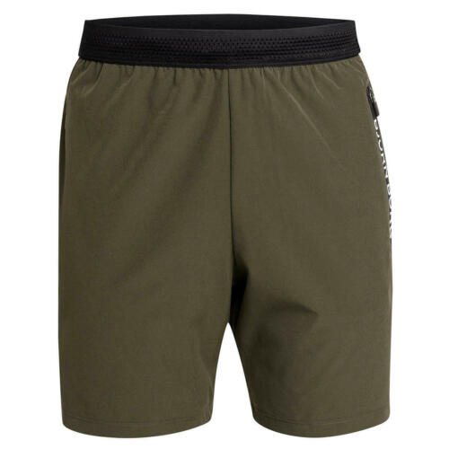Bjorn Borg Mens Adils Mesh Elasticated Waist Zip Pocket Shorts 34/% OFF RRP