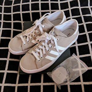 newest 4fc50 4eb46 Originals Gray 8 Adidas Court 5 Canvas Uk Vantage vqttOxdwB