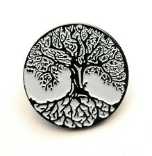 Tree of Life High Quality Metal /& Enamel Pin Badge with Secure Locking Back