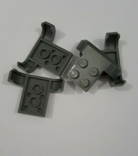 Lego dark bluish gray vehicle mudguard 4x3x1 with arch curved ,4 parts 28326