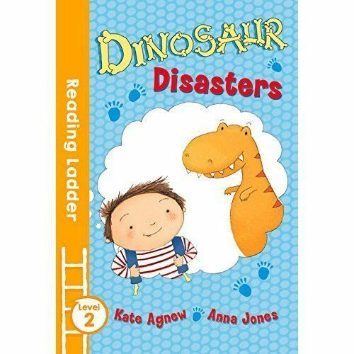 1 of 1 - Dinosaur Disasters (Reading Ladder Level 2), Very Good Condition Book, Agnew, Ka