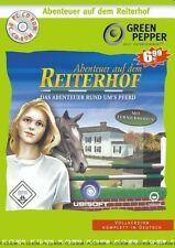 ABENTEUER AUF DEM REITERHOF - Green Pepper - PC CD-ROM - NEU & SOFORT