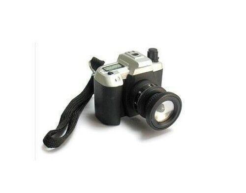Camera Shape Flame Cigarette Lighter Butane Gas Cigarette Lighter With LED Light