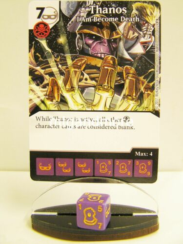 Guardians of the Galaxy 2x #035 Thanos I Am Become Death Dice Masters