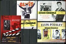 ANTIGUA 2009 Elvis Presley Kino Filme Musik Block 663-666 **