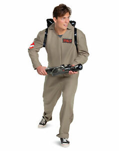 Ghostbusters Adult Jumpsuit Costume Mens Womens NEW Proton Pack