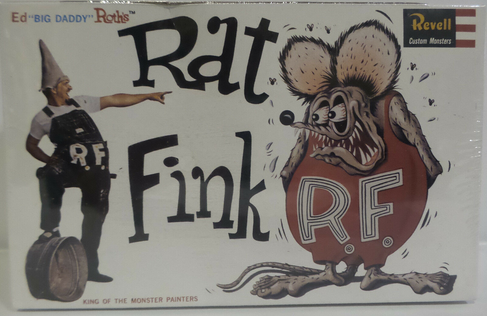 ED ROTH   RAT RAT RAT FINK MODEL KIT MADE BY REVELL IN 1999 - 4135 f7dbfc