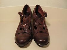INDIGO by CLARKS brown pumps women's Strappy shoes heels  Size 7M 83922