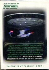 Star Trek The Next Generation Quotable Complete 110 Card Base Set