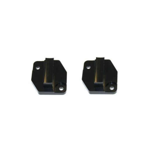 Torque Solution GTR-002 MAF Block-Off Plates Black Anodized for 2009-Up GT-R