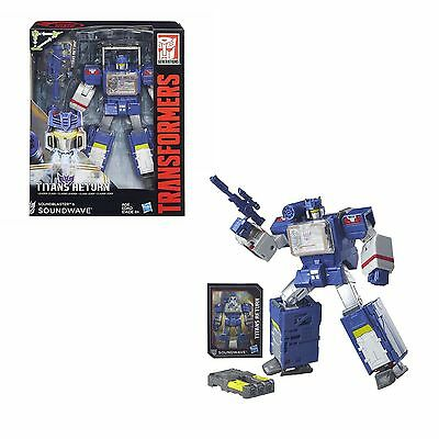 Hot Transformers Generations Titans Return Leader Class SOUNDWAVE Soundblaster