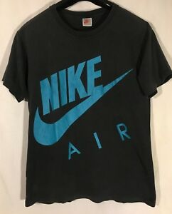 f884af0210 Details about Vintage 90's Nike Air logo T shirt GRAY TAG mens Large double  sided spell out
